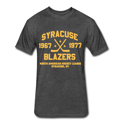 Syracuse Blazers Dated T-Shirt (NAHL) - heather black