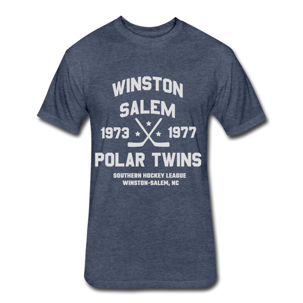 Winston-Salem Polar Twins Dated T-Shirt (SHL) - heather navy