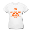 Erie Blades Dated Women's T-Shirt (NAHL) - white