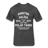 Winston-Salem Polar Twins Dated T-Shirt (SHL) - heather black