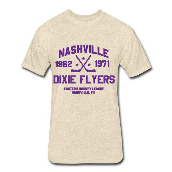 Nashville Dixie Flyers Dated T-Shirt (EHL) - heather cream