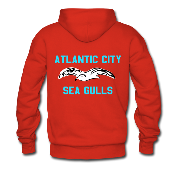 Atlantic City Sea Gulls Premium Double Sided Hoodie (EHL) - red