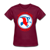 Rhode Island Eagles Logo Women's T-Shirt (EHL) - burgundy