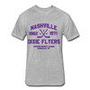 Nashville Dixie Flyers Dated T-Shirt (EHL) - heather gray