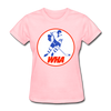 World Hockey Association Logo Women's T-Shirt (WHA) - pink