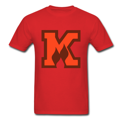 Omaha Knights K Logo T-Shirt (CHL) - red