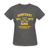 Suncoast Suns Dated Women's T-Shirt (EHL) - charcoal