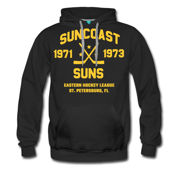 Suncoast Suns Double Sided Premium Hoodie (EHL) - black