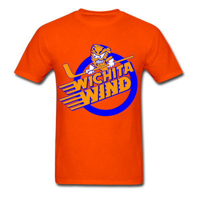 Wichita Wind Logo T-Shirt (CHL) - orange
