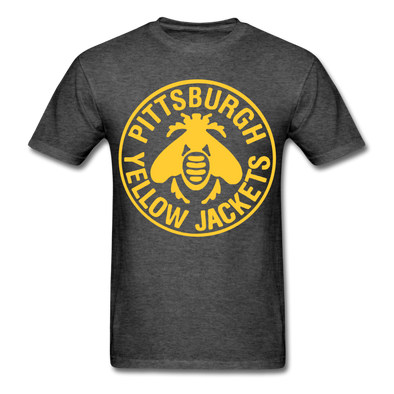 Pittsburgh Yellow Jackets Logo T-Shirt - heather black