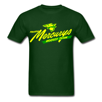 Toledo Mercurys Logo T-Shirt - forest green