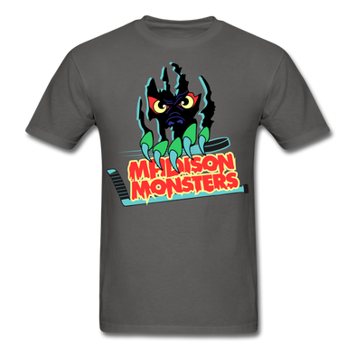 Madison Monsters Logo T-Shirt - charcoal