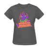 Madison Monsters Halloween Women's T-Shirt - charcoal