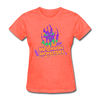 Madison Monsters Halloween Women's T-Shirt - heather coral