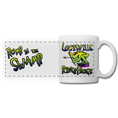 Louisville RiverFrogs Mug - white