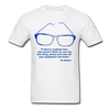 Lighthouse Hockey Glasses T-Shirt - white