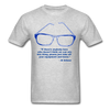 Lighthouse Hockey Glasses T-Shirt - heather gray