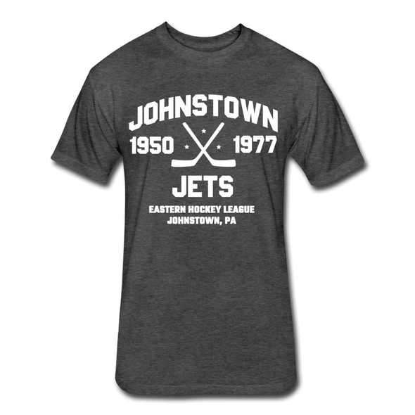 Johnstown Jets Dated T-Shirt (EHL) - heather black