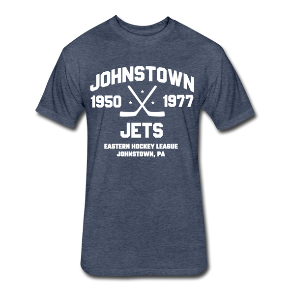 Johnstown Jets Dated T-Shirt (EHL) - heather navy
