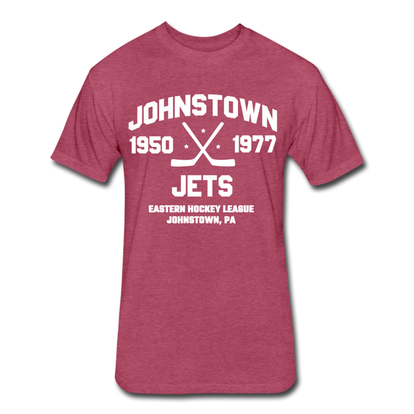Johnstown Jets Dated T-Shirt (EHL) - heather burgundy