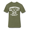Johnstown Jets Dated T-Shirt (EHL) - heather military green