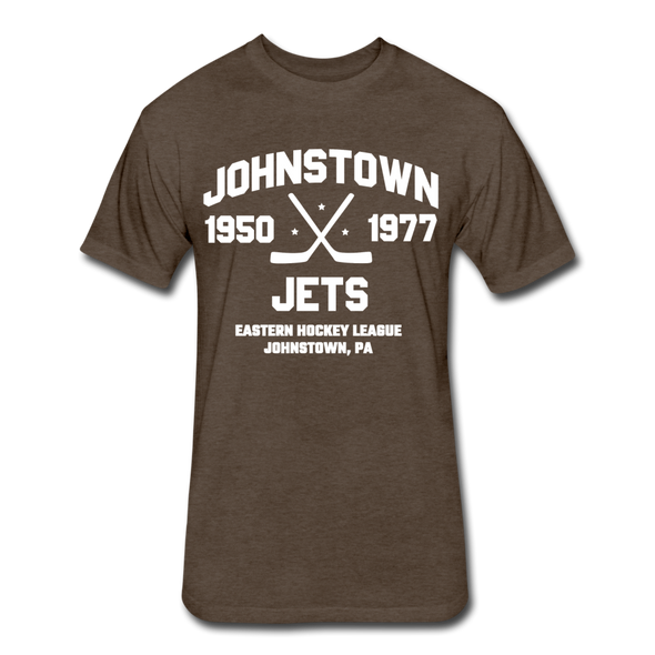 Johnstown Jets Dated T-Shirt (EHL) - heather espresso
