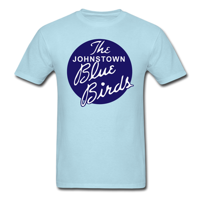 Johnstown Blue Birds Logo T-Shirt - powder blue