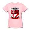 Columbus Checkers Logo Women's T-Shirt - pink