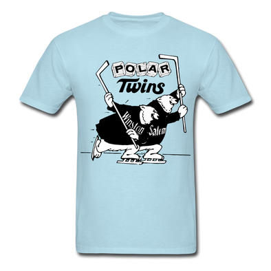 Winston-Salem Polar Twins Logo T-Shirt (SHL) - powder blue