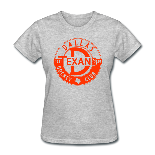 Dallas Texans Circular Dated T-Shirt - heather gray