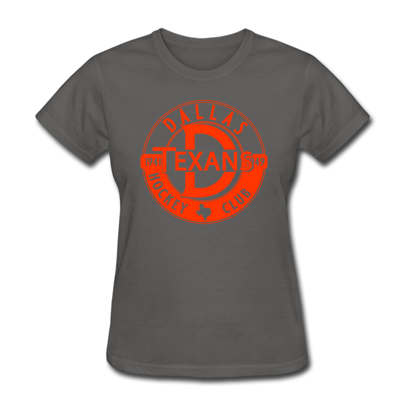 Dallas Texans Circular Dated T-Shirt - charcoal