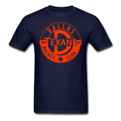 Dallas Texans Circular Dated T-Shirt - navy