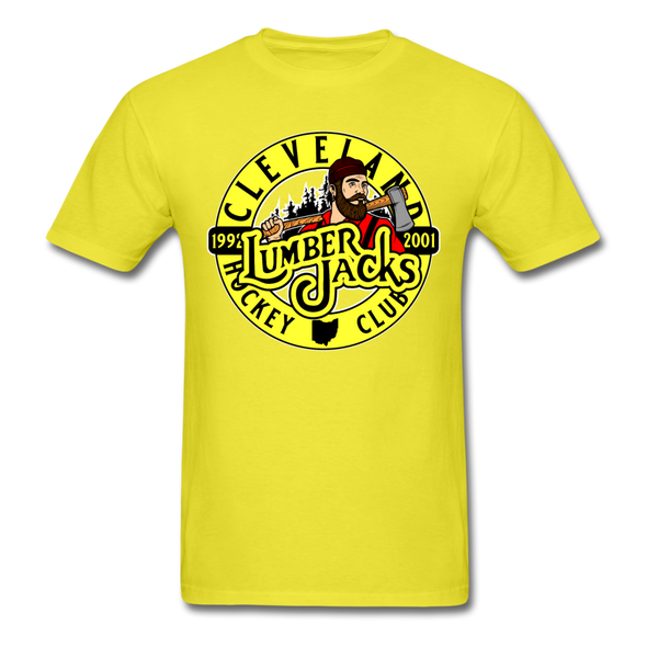 Cleveland Lumberjacks T-Shirt - yellow