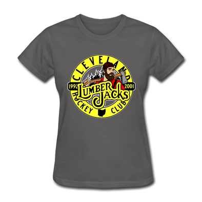 Cleveland Lumberjacks Women's T-Shirt - charcoal