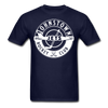 Johnstown Jets Circular T-Shirt - navy