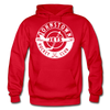 Johnstown Jets Circular Hoodie - red