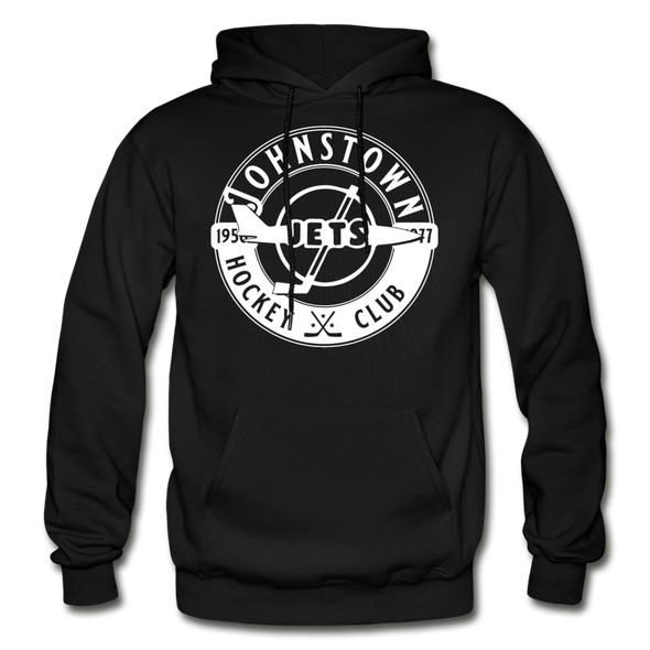 Johnstown Jets Circular Hoodie - black