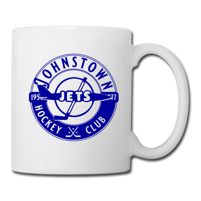 Johnstown Jets Circular Mug - white