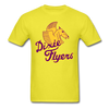 Nashville Dixie Flyers Pegasus Logo T-Shirt - yellow