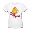 Nashville Dixie Flyers Pegasus Logo Women's T-Shirt - white