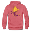 Nashville Dixie Flyers Pegasus Logo Hoodie - heather red