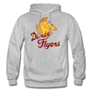 Nashville Dixie Flyers Pegasus Logo Hoodie - heather gray
