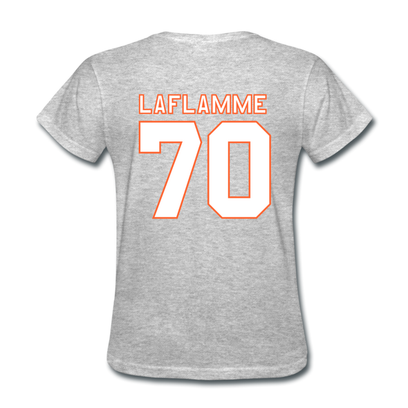 Halifax Highlanders Laflamme 70 Women's T-Shirt - heather gray