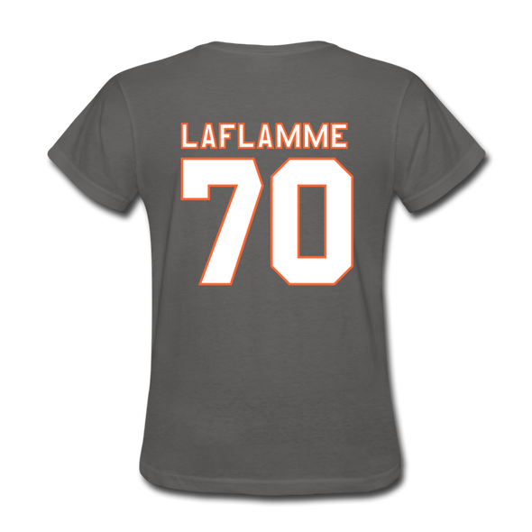 Halifax Highlanders Laflamme 70 Women's T-Shirt - charcoal