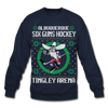 Albuquerque Six Guns Holiday Sweater (Unisex) - navy