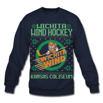 Wichita Wind Holiday Sweater (Unisex) - navy