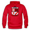 Columbus Checkers Logo Hoodie - red