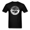 Johnstown Jets Circular Dated T-Shirt (Smaller Design) - black