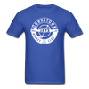 Johnstown Jets Circular Dated T-Shirt (Smaller Design) - royal blue