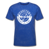 Johnstown Jets Circular Dated T-Shirt (Smaller Design) - mineral royal
